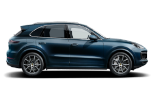 Immatriculation Luxembourg Porsche Cayenne Turbo