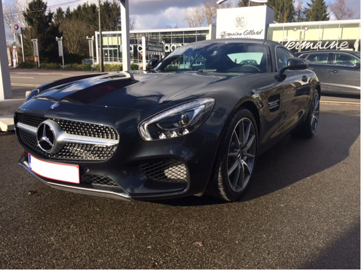 Location Luxembourg Mercedes AMG GT