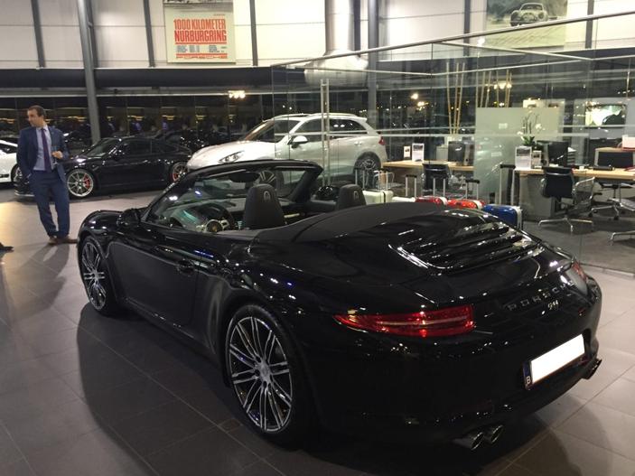 Luxembourg Location Porsche 911 Cabriolet