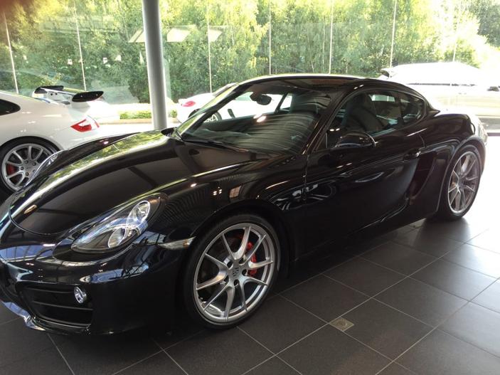 Luxembourg Location Porsche Cayman