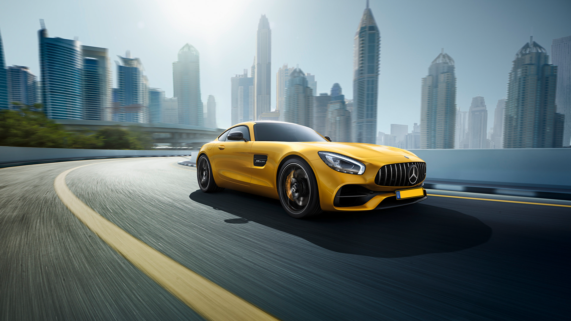 Immatriculation Luxembourg Mercedes AMG GT