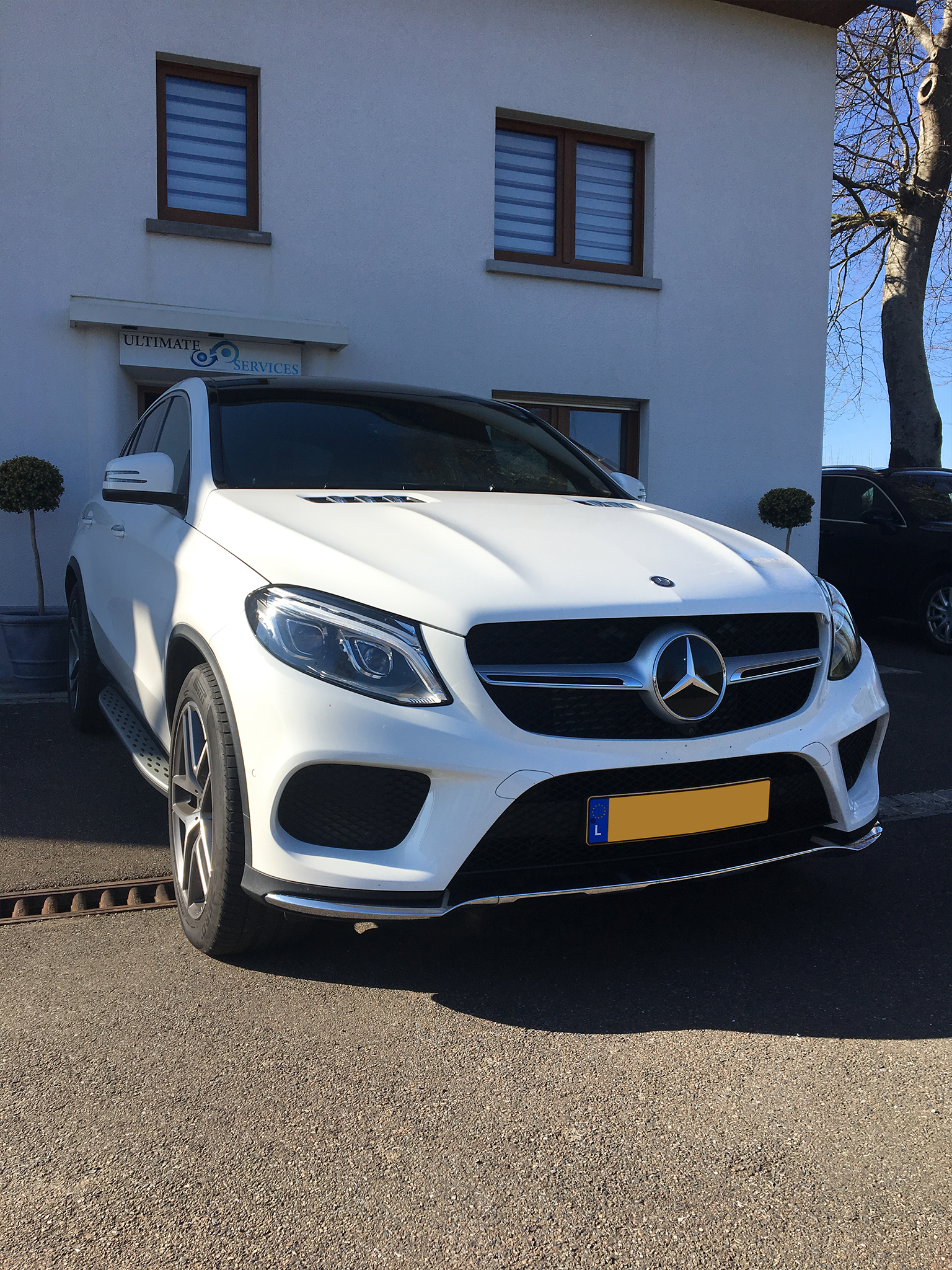 Luxembourg Location Mercedes Ultimate Services